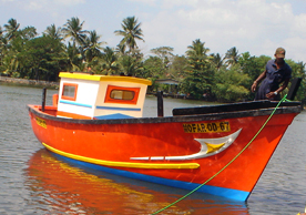 Multiday Fishing Boat (30ft)